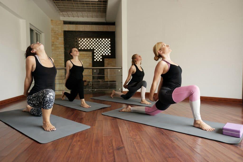 Women Attending Yoga Class